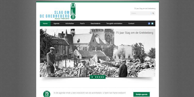 website gemaakt voor de Gemeente Rhenen