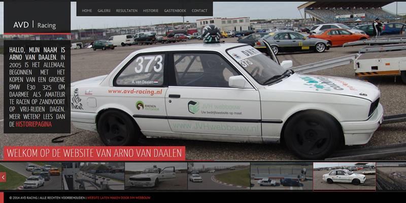 Race website laten maken