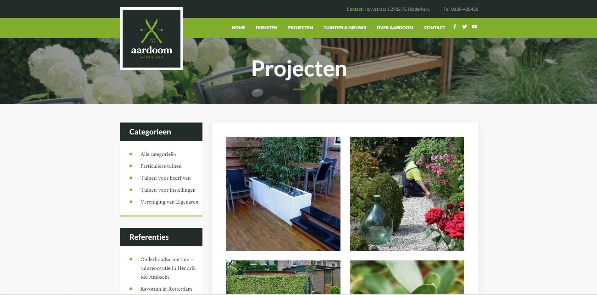 bedrijfswebsite