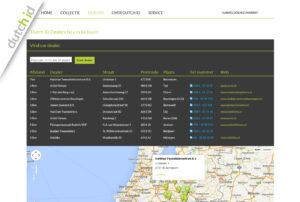 Maatwerk Google Maps kaartapplicatie ontwikkeld voor Dutch ID