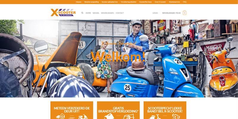 professionele website laten maken veenendaal x scooter